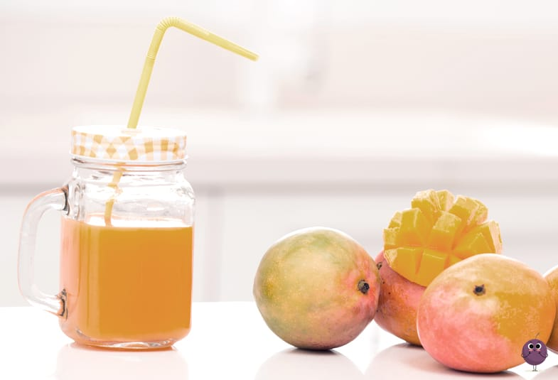batido de mandarina y mango: receta