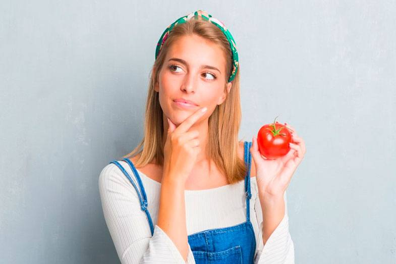 tomate fruta verdura