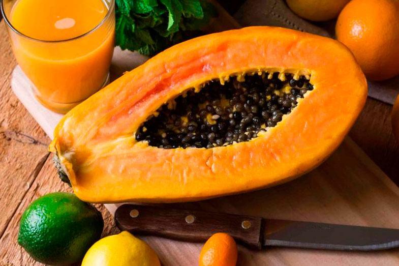 papaya zumo