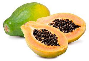 como se come la papaya