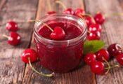 mermelada de cereza receta