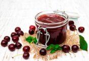 mermelada de cereza