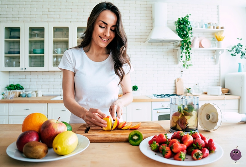 Propiedades de las frutas: fibra